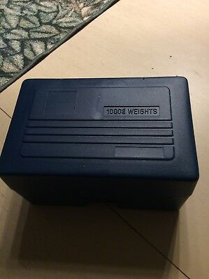 Physics Physical Science 1000g gram Weight Set