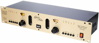 SPL Goldmike 9844 - Class-A 2-Channel Tube Preamp