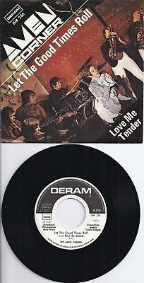 "Amen Corner - Let The Good Times Roll - 7""Single von 1969 als Warenprobe! mint-"