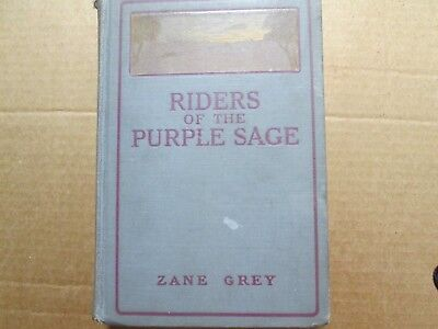 Vintage, Riders of the Purple Sage, Zane Grey, 1912