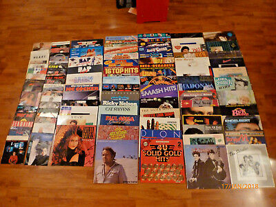 116 Schallplatten, 74 LP`s, 42 Singles, Pop, Oldies, Disco, 60er, 70er, 80er