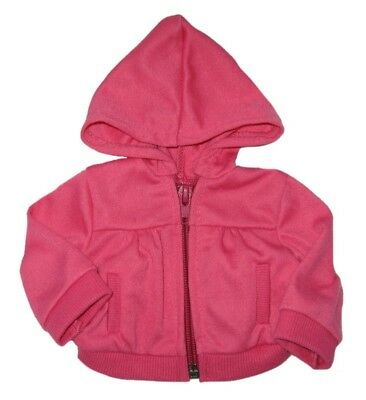 Hot Pink Hoodie Fits 18 inch American Girl Dolls