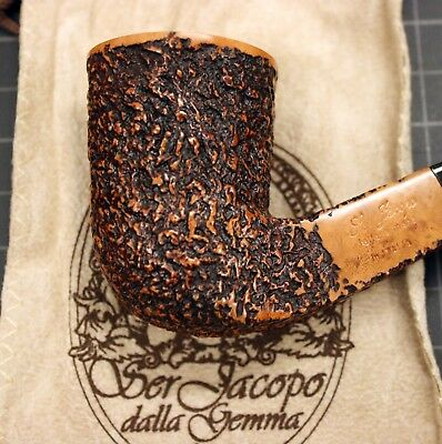 New & Unsmoked Ser Jacopo (R1) Rustic Bent Dublin with Square Shank