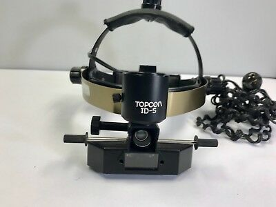 Topcon ID-5 BIO in excellent condition... slider is not included