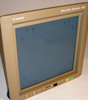 Canon Front Panel and Screen for Microfilm Scanner 400