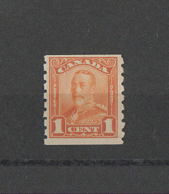 Canada, 1929 Stamp #160, MNH. King GeorgeV, Coil Stamp