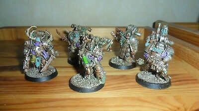 Warhammer 40k - Death Guard - Plague Marines - pro painted