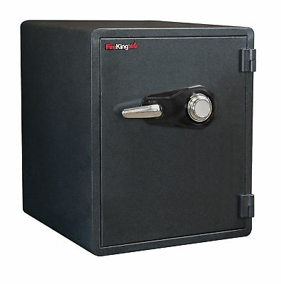 1-Hour Fireproof safe and Water Resistant with Combo dial lock.  MagPROOF Ant...