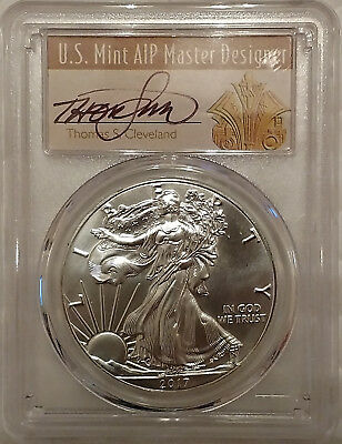 2017-S PCGS MS70 ASE T.Cleveland Art Deco. Rare, Very LOW Population!!!