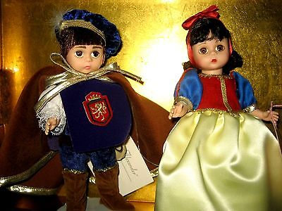 Madame Alexander Snow White & Prince Disney Set Of Two Dolls
