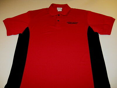 OFFICEMAX Depot Max Office Supply Retailer Embroidered Golf Polo Shirt New!  MED