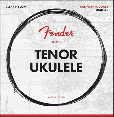 Fender California Coast Tenor Ukulele Strings - Made in the USA - #073009404