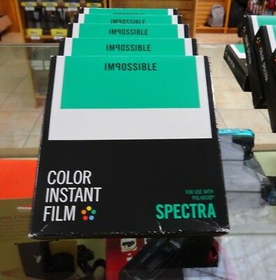 Impossible Spectra Instant Film Color - Expired
