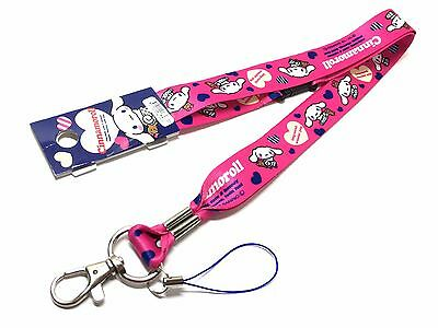Cinnamoroll Lanyard Neck Strap Key Chain Key Ring Key Holder Sanrio Kawaii