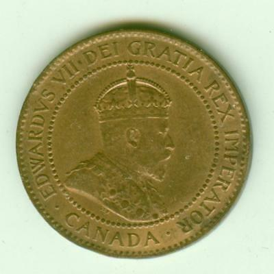 Canada 1902 Cent-Lot Z2