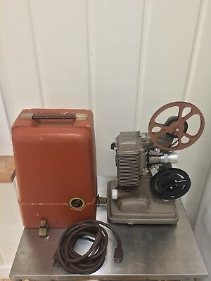 Revere Model 85 8mm Vintage Movie Projector, Tested,Works, Great Condition.