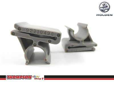 Glovebox Clips (PAIR) Suit VY VZ Commodore WK WL Statesman Genuine - 92189069