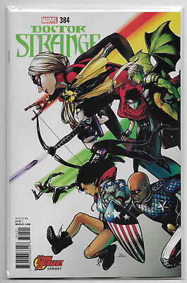 Doctor Strange #384 Marvel Comics 2018 Shirahama Young Avengers Variant Cover