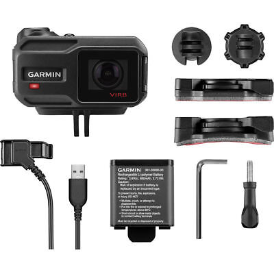 Garmin VIRB X Compact Waterproof HD Action Camera with G-Metrix 010-01363-01