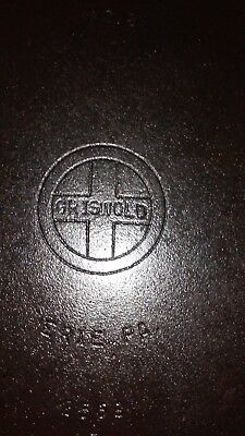 Vintage Griswold Cast Iron Hinged Dutch Oven Bottom Only  #8 Small Logo.