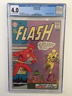 The Flash 139 - (1st Reverse Flash) - CGC 4.0