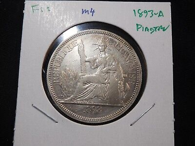 M4 French Indochina 1893-A Piastre