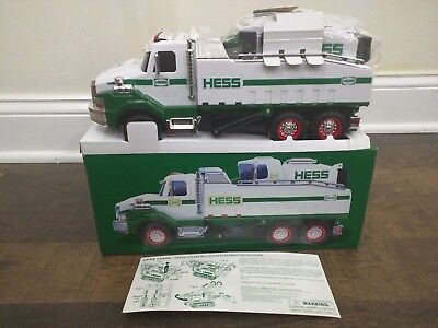 Hess 2017 Dump Truck and Loader New in Box!!