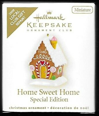 Hallmark Keepsake Ornament Colorway Repaint Home Sweet Home Gingerbread House