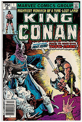 TEN (10) Marvel KING CONAN # 1; MARCH 1979; UNREAD, VF COMICS!! OVERSTREET $90