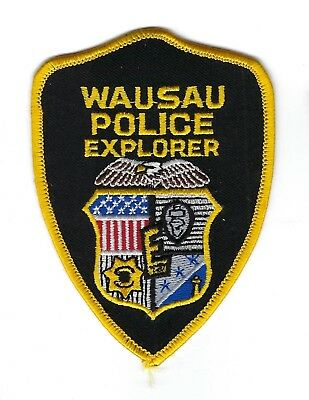 Wausau WI Wisconsin BSA Boy Scouts Police Explorer Post 442 patch - NEW!