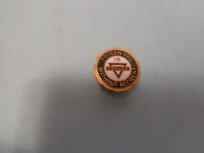 Conoco 15 Year Safety Pin