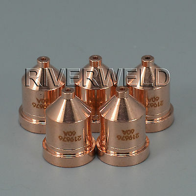 5pcs 219676 Plasma Tips 60Amp For Miller ICE-60T 80T Plasma Cutting Torches