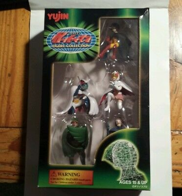 Gatchaman Figure Collection Battle of the Planets G-Force Yujin BOTP Sealed  AA
