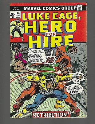 Luke Cage Hero For Hire #14 Origin Retold