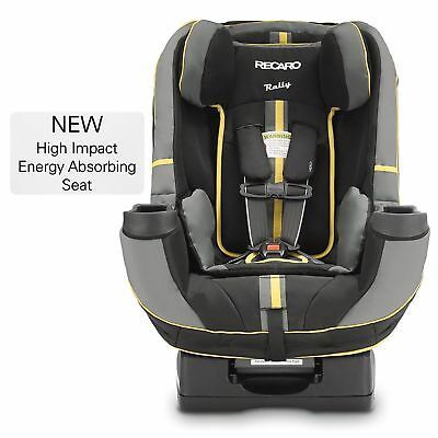 RECARO 338.01.RAVN Performance Rally Convertible Car Seat, Raven