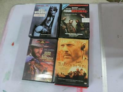 Lot of 25 DVDs, All R-Rated Adult Action Drama Comedy Movies, Shows