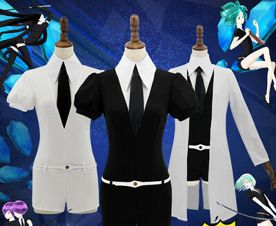 Houseki no Kuni Phosphophyllite Antarctic Diamond Bort Cosplay Costume Jumpsuits