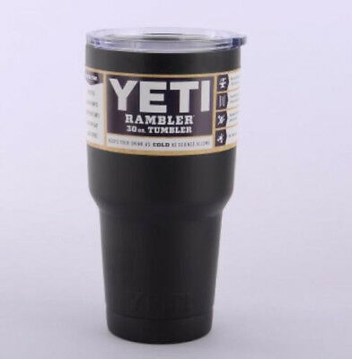 2017 YETI Outdoor 30oz Stainless Steel Rambler Tumbler Insulated Cups Set