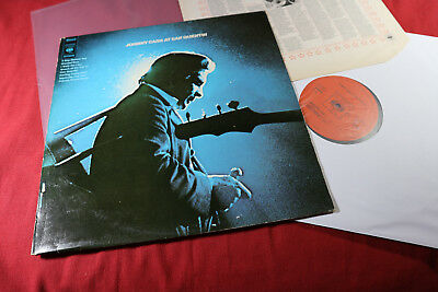 Johnny Cash  AT SAN QUENTIN  -  LP CBS S 63629 Holland 1969 sehr gut