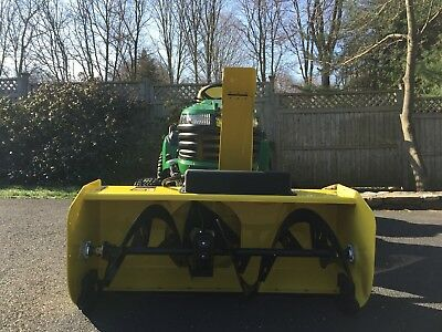 John Deere Tractor 47 Inch Quick Hitch Snow Blower  New!!