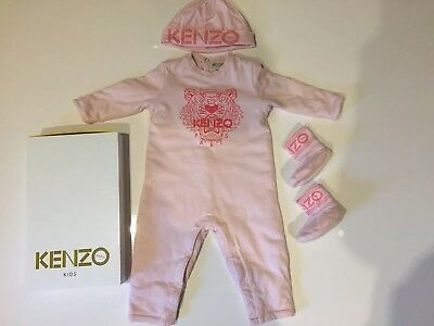 Baby Girl Kenzo Outfit Age 6-9 Months