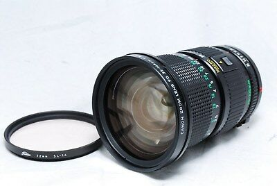 Canon New FD 35-105mm f/3.5 NFD Zoom Macro MF Lens from Japan #633