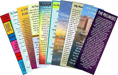 Alcoholics Anonymous Bookmarks