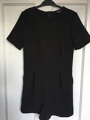 Girls Playsuit, black, new look age 11