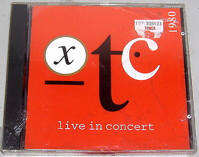 WINDSONG CD WINCD-026: XTC - BBC Radio 1 Live in Concert 1980 OOP 1992 UK SEALED