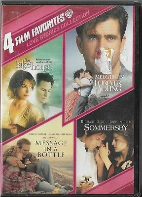 4 Film Favorites: Love Stories Collection (DVD, 2011, 2-Disc Set) New Sealed!