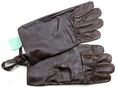 Swedish Army Officers Leather Gloves