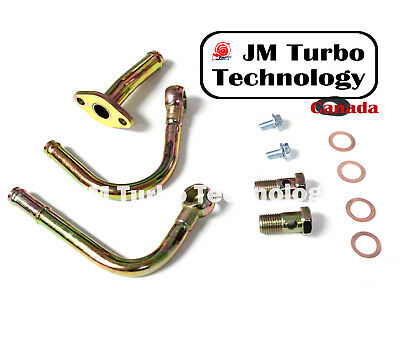 Subaru TD06 20G Turbo Water Pipe Kit Fit Impreza WRX / STI