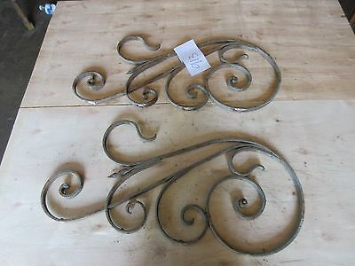 Antique Victorian Iron Gate Window Garden Fence Architectural Salvage #913