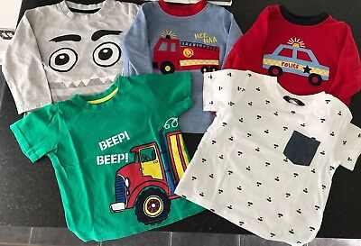 Baby boys Bundle clothing 18-24 months long sleeved tops and t-shirts